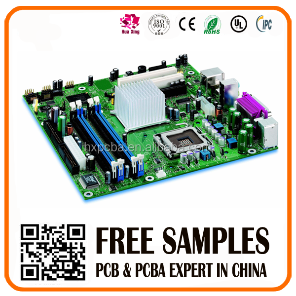 Multilayer OEM printed circuit/one stop pcb service with led aluminum based board pcb circuit board assembly
