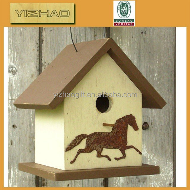 YZ-wb0001made in China high quality bird house with solar light