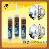 China Manufacturer Good Quality low modulus white and black color silicone sealant
