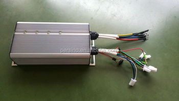 silvery controller box for 1500w DC speed motor controller electric tricyle/rickshaw