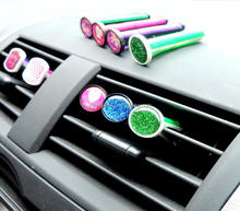 Plastic car window clips, vent air clear clips, vent air fresheners car