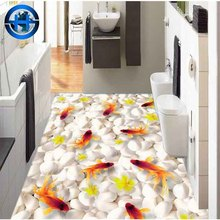 Top selling products diffuse reflection house tile fish 3D picture design 3D porcelain floor tile