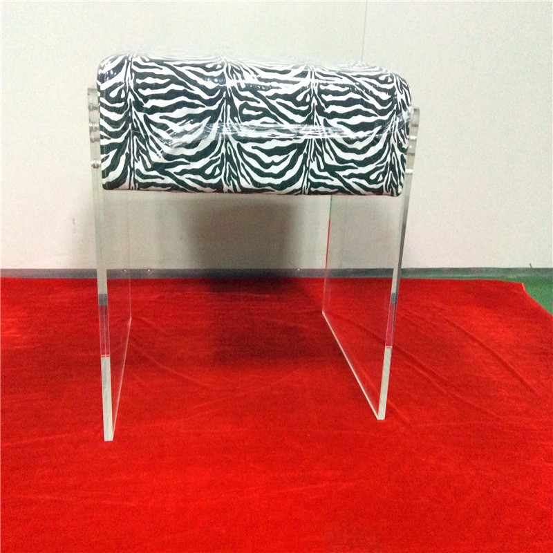 acrylic bar stool chairs set back