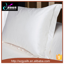100% Mulberry Silk Pillowcase White Color For DIY