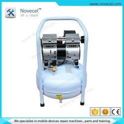 Factory best price mini 220V low noise silent oil free air compressor