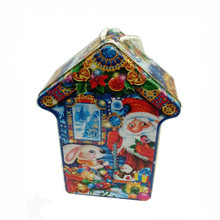 christmas gift special shape novelty design tin box