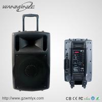 "Plastic Stage Music Sound Box 10"" Outdoor DJ Audio Player Speaker"