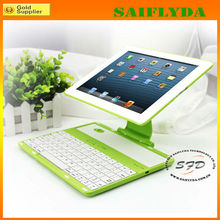2013 Hot selling for ipad case with bluetooth keyboard many colors for you choose