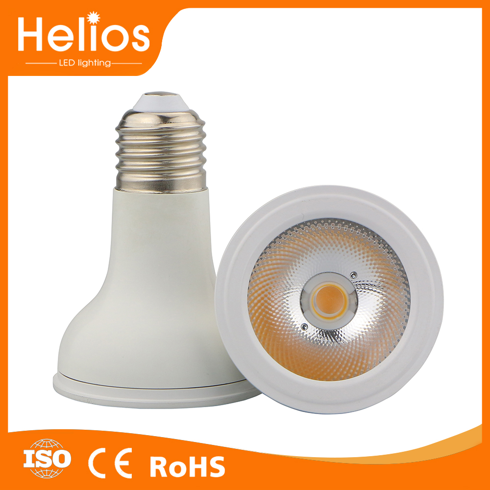 high lumen 3000k cob 10w par20 led jewelry spot light led bulb par20 dimmable