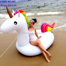 Giant cool style Inflatable Unicorn Pool Float Water Floats For Adult and Children Having Fun At Pool Party and Beach