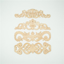 furniture parts furniture carved decorative wood appliques and onlays