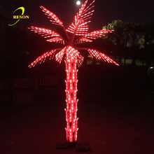 Garden Use Outdoor LED Coconut Palm Tree Lighting