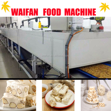 new automatic snack candy bar manufacturing machine//candy bar making machine for sale