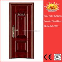China manufacturer pre hung spanish exterior door SC-S107.