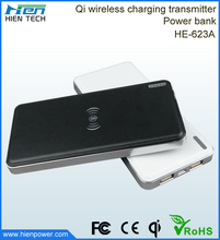 10000mah rechargeable power bank wireless mobile phone charger