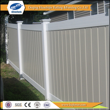 pvc privacy garden vinyl fence colors