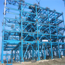 SGS certificate prefabricated steel frame structure multi-storey building