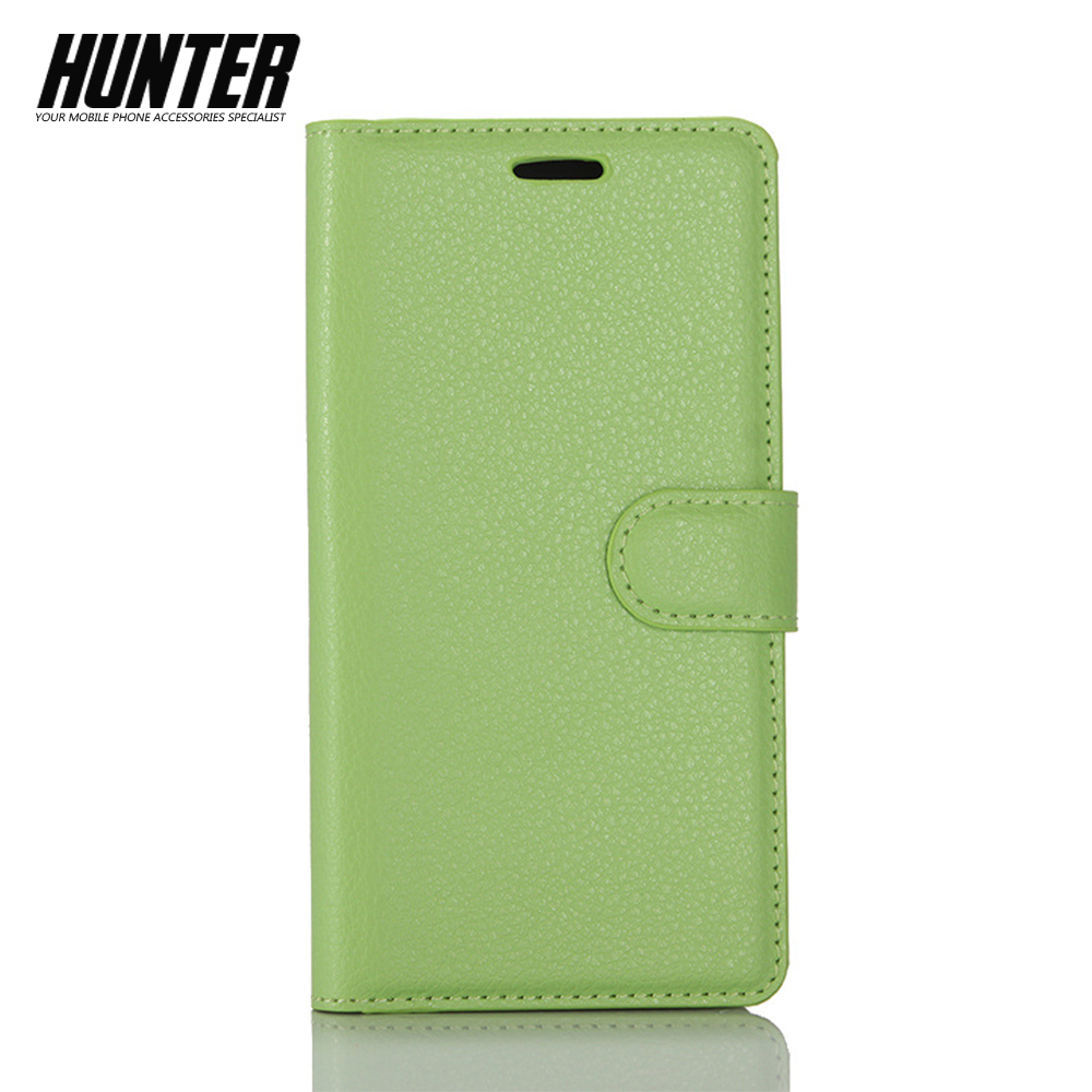 Plain Book Case For ZTE GRAND X4 Phone Cover
