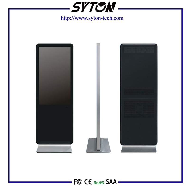 Floor Standing Ad LCD Digital Signage Player With Global Guarantee