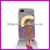 3D bling crystal rhinestone phone case for Apple mobile BY-1032
