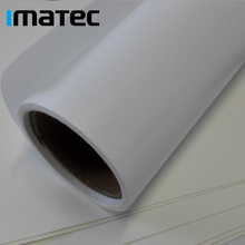 250 gsm Glossy Polyester Eco Solvent Inkjet Canvas Roll for Roland Mimaki Wide Format Printing