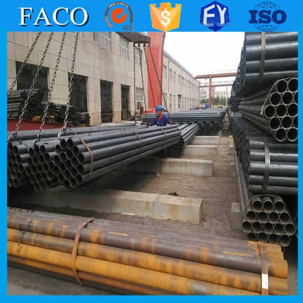ERW Pipes and Tubes !! japanese tube 8 sch40 astma53 red paint steel pipe