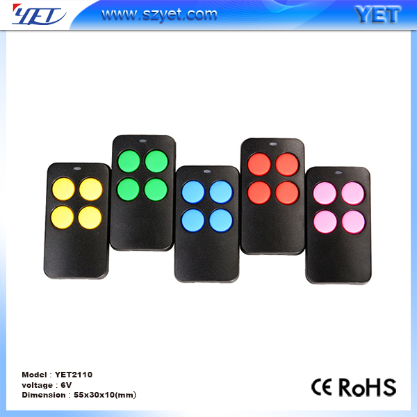 Universal 433Mhz Copy Rf Self-learning Remote Control Duplicator for Garage Door Auto Gate
