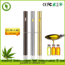 Greentime innovative product disposable vape pen liquido thc e cigarette china suppliers
