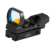 Reflex Sight 4 Reticle 1X22X33 Red Dot Sight With Picatiny/ Weaver Rail Mount For Rifles
