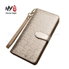 Personalized design fashion men's leather wallet