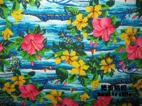 high qulity tropical printing flower fabric