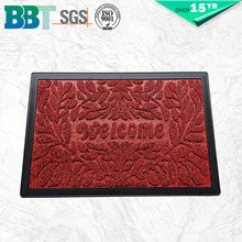 Modern Style Entrance Door Mats 100% polyester floor mat roll