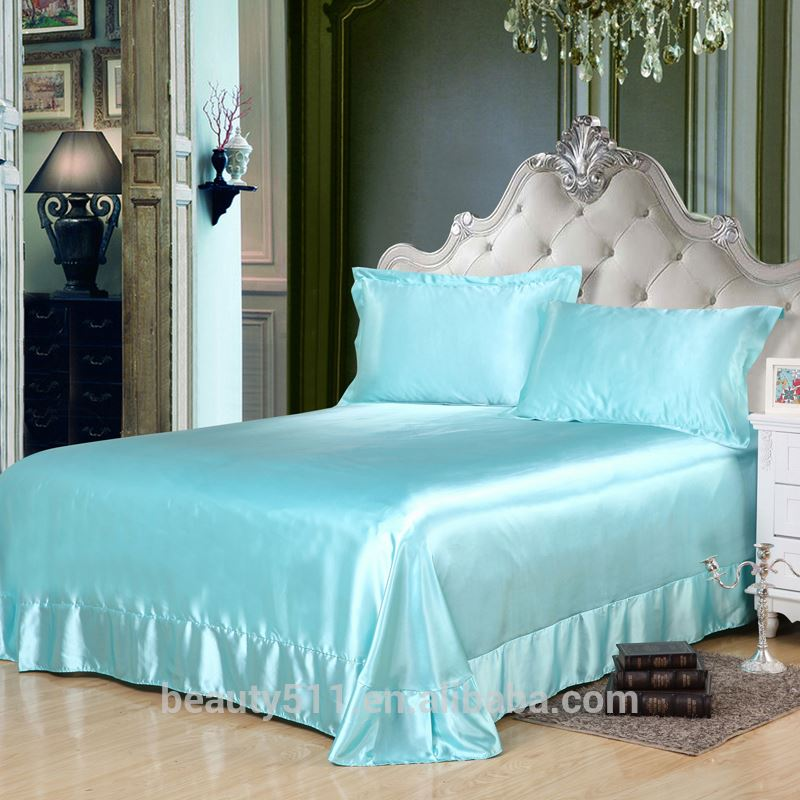 180TC -300TC Cotton cheap hotel bed bedding set / bed sheet / hotel bed linen BS7601