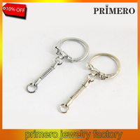 PRIMERO Cheap Price Metal Keychain Fashion Metal Keychain With Snake Chain Promotional Gifts Lobster clasp Keychain