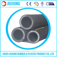 best quality high pressure 3/8'' rubber spiral steel wire reinforced hose