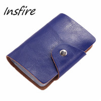 hot selling Encai Factory New Design leather Credit Card Bag/business Card Holder/name Cards Case