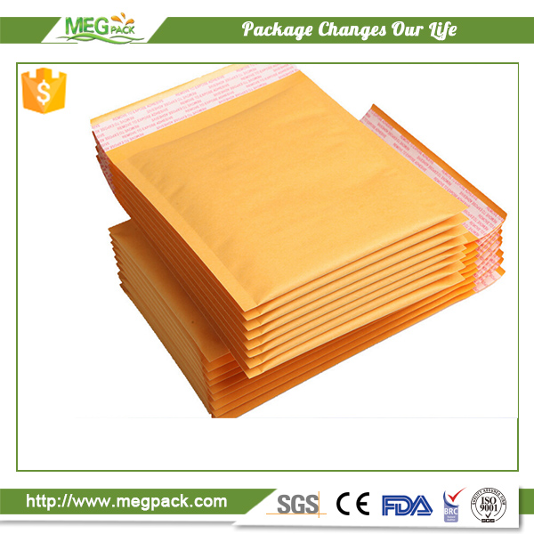 Kraft paper mailing bubble envelope bags for packing