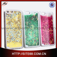 Cellphone cases shell mobile phone covers quicksand shell with PC hard suitable for iphone 6