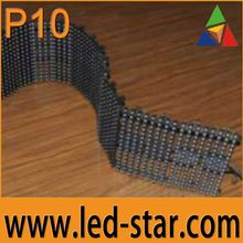 Electronic P10 Scrolling LED Display Board Hot in East Europe