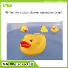 Good Quality Healthy Safety Family Bath Set of 4 Floating Bath Tub Toy Plastic Rubber Duck