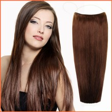 Manufactures Wholesale Custom Cheap human hair flip in extension