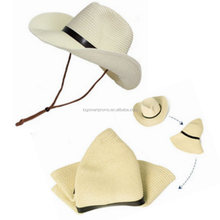 2018 Fashionable Outdoor Sports Straw Cowboy Hats