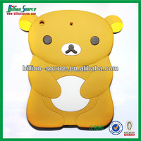 2015 silicone sleeve for ipad 5 of bear design