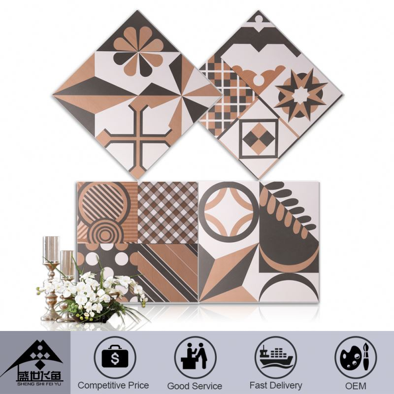 Stylish Get Your Own Designed Custom Printing Promotional Price 300X300Mm Polystyrene Wall Tiles
