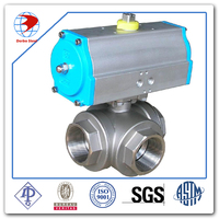 Easy to use pneumatic actuator ball valve kitz valve for industrial use