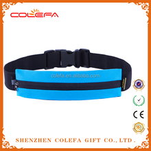 Sport Running Belt Waist Pack with Nylon Material Waterproof Bag for Phone