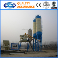 plantray mixer for concrete batching plant process flow