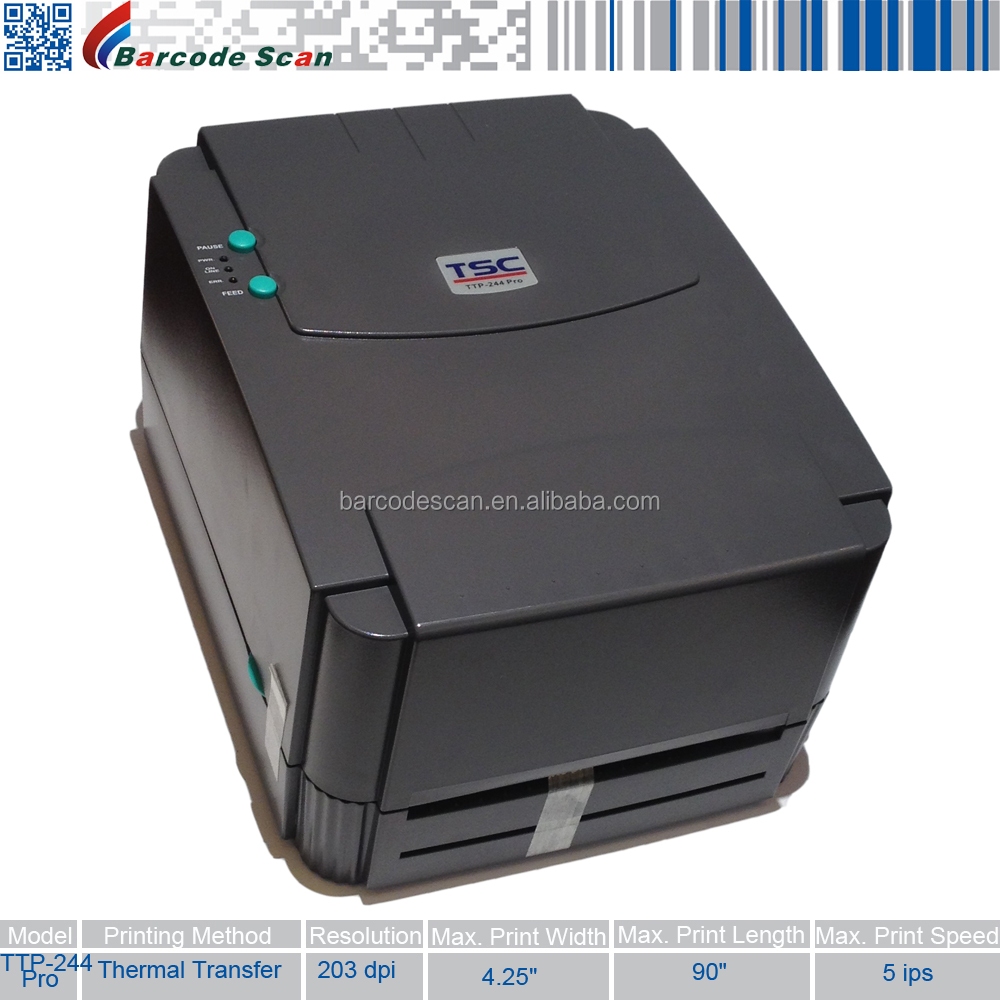 TSC Barcode printer TSC ttp-244 pro Label Printer