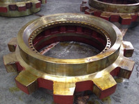 Steel Cast Mine Chain Wheels, Sprockets