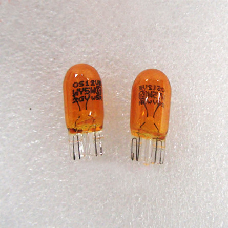 OSRAM Halogen Bulb Wholesale T10 WY5W Amber Motorcycle Turn Signal Lights